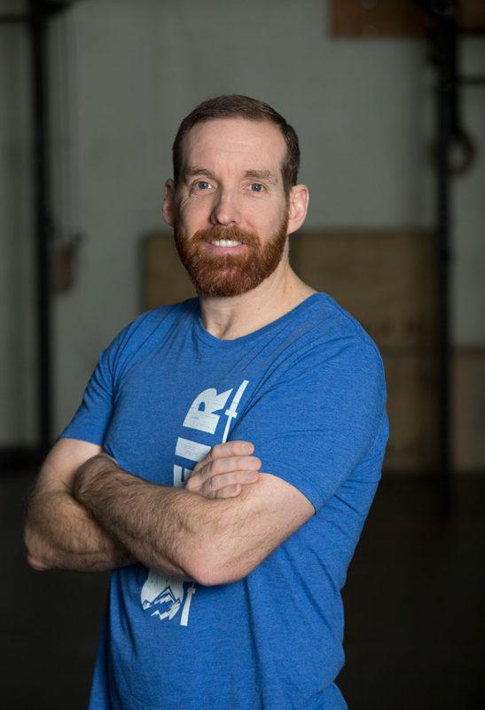Travis Williamson CrossFit Level 1 Trainer